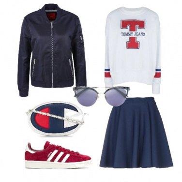 Outfit Pronta per il college