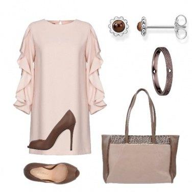 Outfit Marrone nel cuore