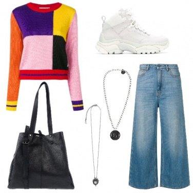 Outfit Doppia collana