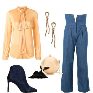 Outfit Jeans in versione chic
