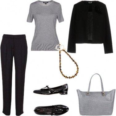 Outfit Trendy, primi freddi andando al lavoro