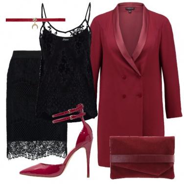 Outfit La giacca vestito. il vestito giacca.