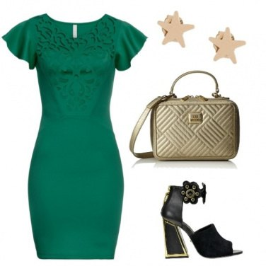 Outfit Abitino verde