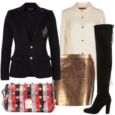 Outfit Il blazer college