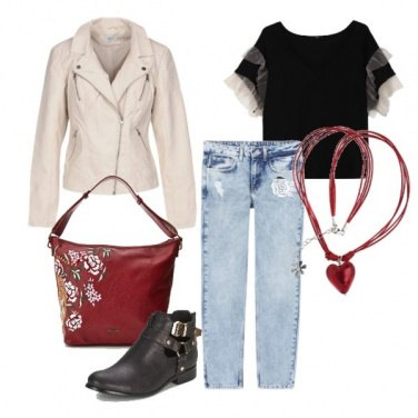 Outfit Romantico casual