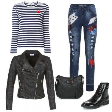 Outfit Il jeans particolare