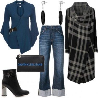 Outfit Tendenze in Autunno: abbinare Blu e Nero
