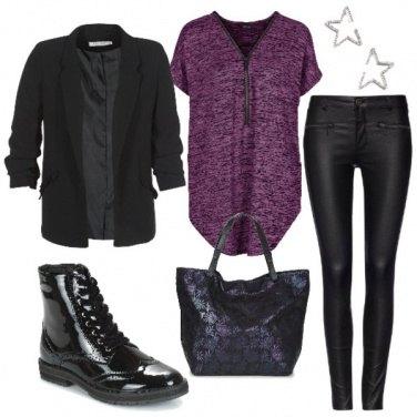 Outfit La maglia oversize
