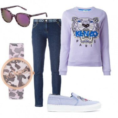 Outfit Total look Kenzo