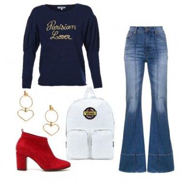 Outfit Lo zaino Vans