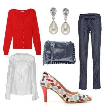 Outfit Le scarpe arlecchino