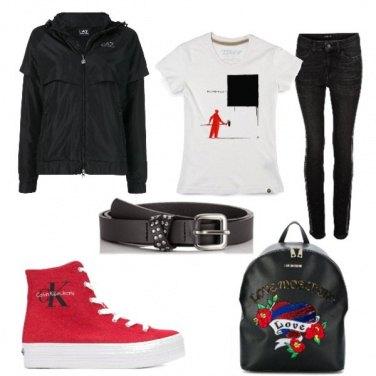 Outfit Nero per caso