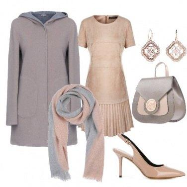 Outfit Melange di colori caldi