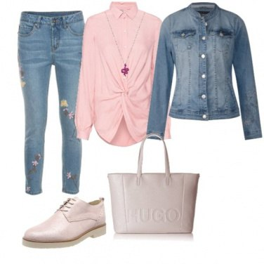 Outfit Urban chic pink