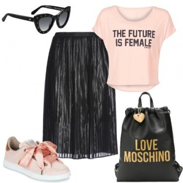 Outfit Il futuro è donna