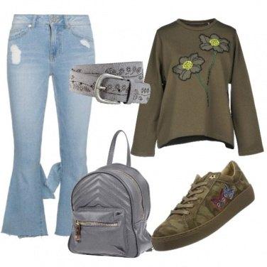 Outfit La mia vita in jeans