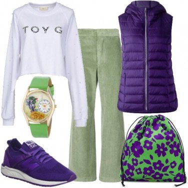 Outfit Ultraviolet