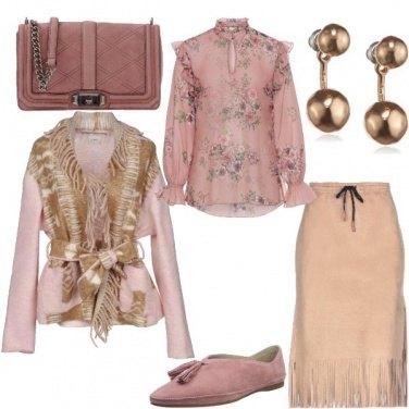 Outfit Moderna Squaw romantica
