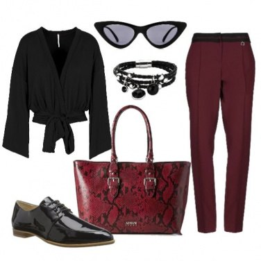Outfit Donna sicura