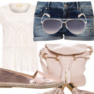 Outfit Top frange