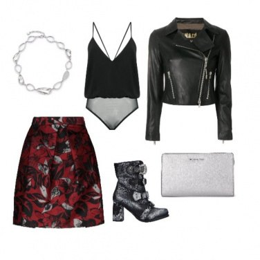 Outfit Rock brillante