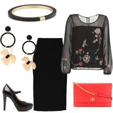 Outfit Fiori e ricami