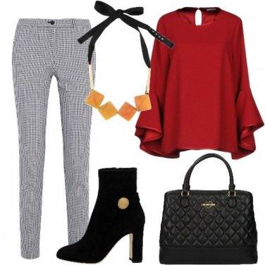 Outfit Stivaletto in camoscio