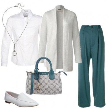 Outfit Cardigan in ufficio