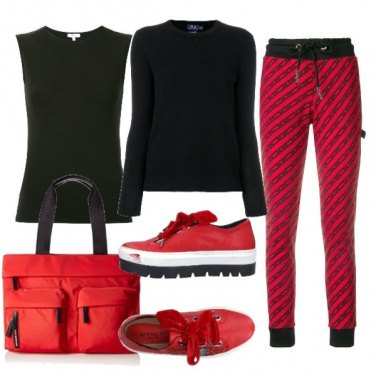 Outfit Trendy a scuola