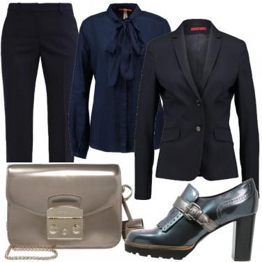 Outfit Mannish di classe