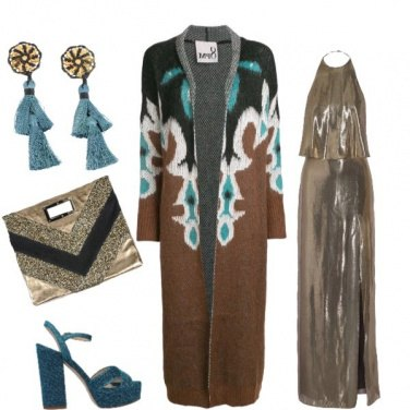 Outfit Glitter wool