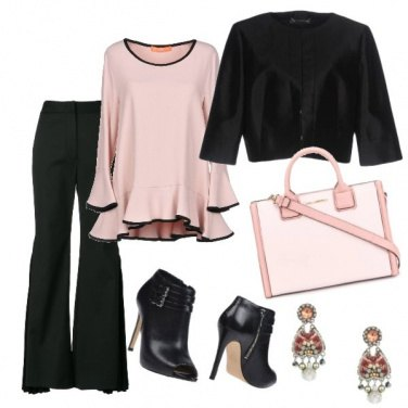 Outfit Un po\' di rosa non guasta mai