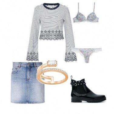 Outfit Un tocco di rock