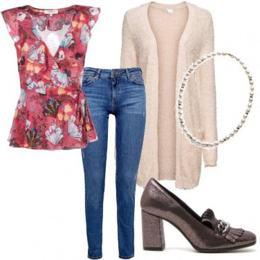 Outfit Romantic urban style
