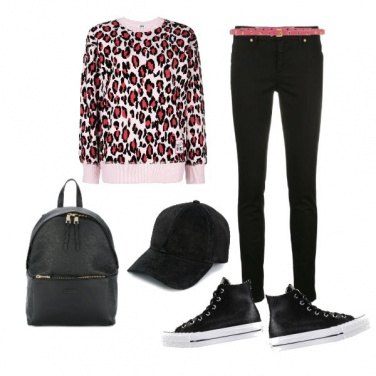Outfit Casual audace