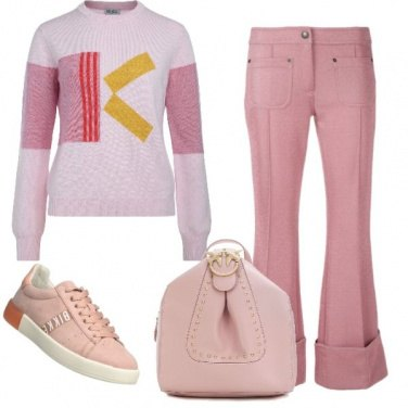 Outfit Baby rosa