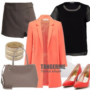 Outfit TANGERINE - Trend Alert