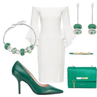 Outfit Un tocco smeraldo