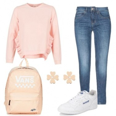Outfit Rosa rosa