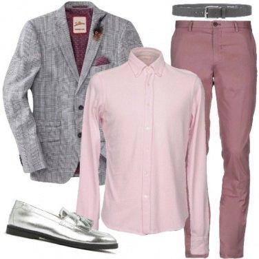 Outfit Con i mocassini silver