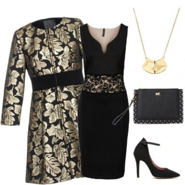 Outfit Foglie dorate