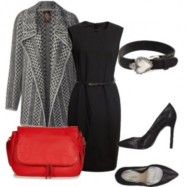 Outfit Intramontabile cardigan