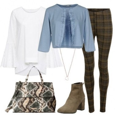 Outfit Tweed e cardigan 2.0