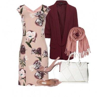 Outfit Blazer con Sciarpa