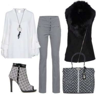 Outfit Urbano chic