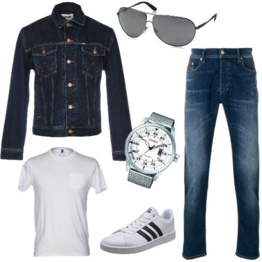 Outfit Giacchetto jeans
