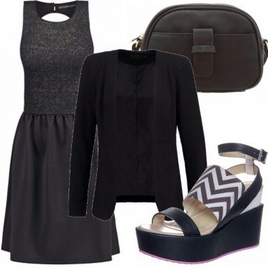 Outfit Woman in black