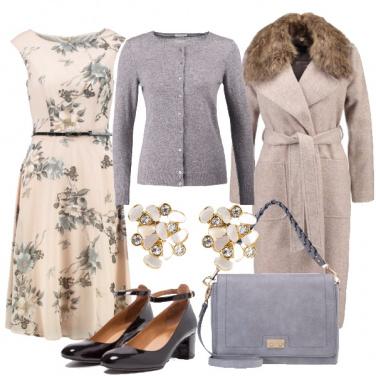 Outfit Romanticamente a fiori