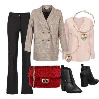 Outfit Must quadri&velluto