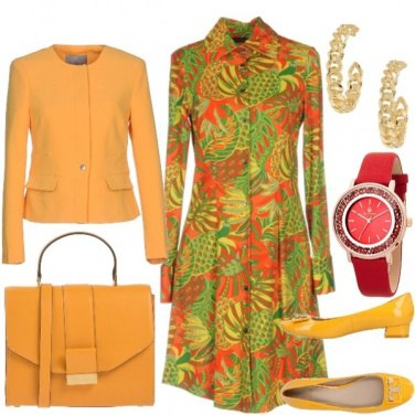 Outfit Tropicale style